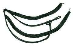 Fangschnur gruen 2 Breitgeflecht und 2 Schlingen