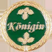 Anstecknadel Koenigin