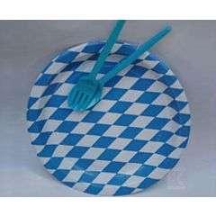 10 Pappteller Bayern