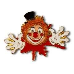 Neu: Clown aus Farbkleks