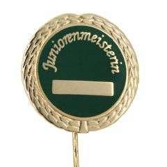 "Anstecknadel ""Juniorenmeisterin"""