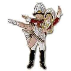 Neu: Tanzpaar stehend Pin