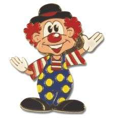 Neu: winkender Clown mit Hut