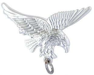 Adler - Ordenaufhänger versilbert