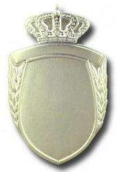 Königsorden mit Broschennadel versilbert