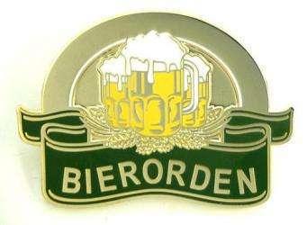 Bierorden mit Broschennadel