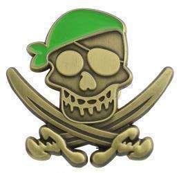 """Karnevalspin """"Pirat"""""""