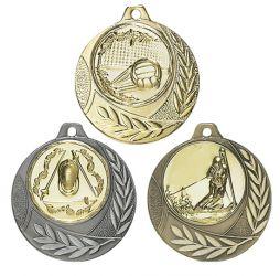 """Medaille """"Arezzo"""" Ø 40mm mit Wunschemblem und Band"""