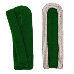 Schulterstücke mit Aussensoutache silber