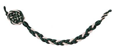 Schützenschnur silber-grün