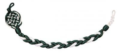 Schützenschnur grün-weiß