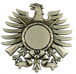 Ehrenadler altsilber mit Etui