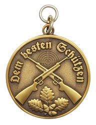 Medaille - Dem besten Schützen