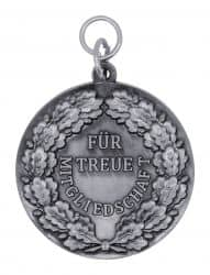 """Schützenmedaille """"Für treue Mitgliedschaft"""""""