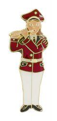 Musikerin Flötenspielerin