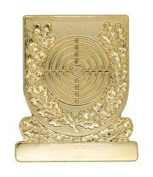 Meisterschaftsabzeichen Scheibe gold