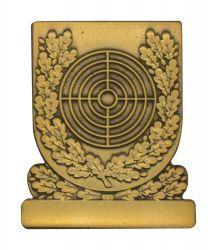 Meisterschaftsabzeichen Scheibe bronze