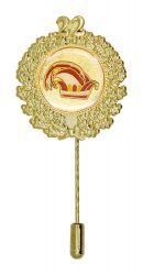 Jubiläumsnadel mit Ehrenkranz und Zahl 22