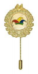 Jubiläumsnadel mit Ehrenkranz und Zahl 44
