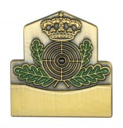 Königsabzeichen 2 altgold