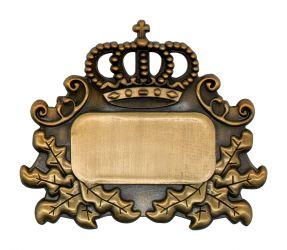 Königsabzeichen 4 altgold