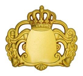 Königsabzeichen 7 mit Magnet gold
