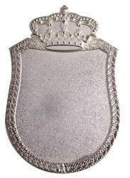 Königsschild 2 silber