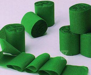 6 Rollen Kreppband grün
