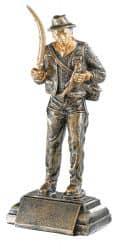 Trophäe Angler FS52506 bronze