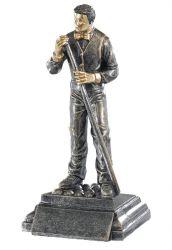 Trophäe Billardspieler FS52573 bronze