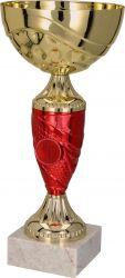 Pokale 6er Serie TRY-9057 gold/rot