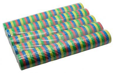 Luftschlangen Streifen XXL Paket