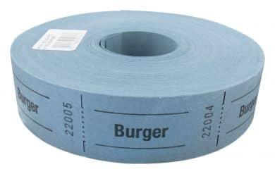 "Rollenbons ""Burger"" 1000 Abrisse"