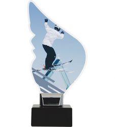 Acryltrophäe Ski-Freestyle
