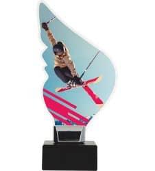 Acryltrophäe Ski-Freestyle 2