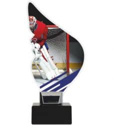 Acryltrophäe Eishockey-Torwart