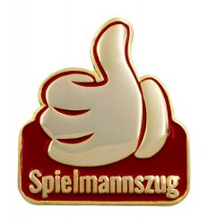 "Thumbs Up Pin ""Spielmannszug"""