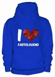 "Hoodie ""I Love Fastelovend"" - Damen"