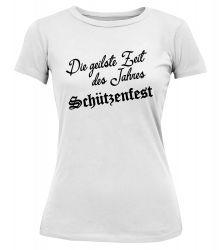 "T-Shirt ""Geilste Zeit"" - Damen"