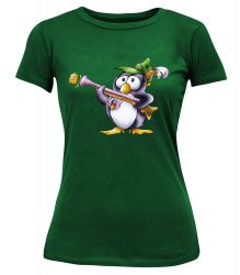 "T-Shirt ""Pinguin Rosabella"" - Damen"