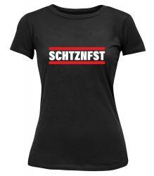 """T-Shirt """"SCHTZNFST"""" - Damen"""