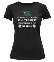 """T-Shirt """"Feiern kann jeder"""" - Damen"""