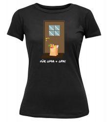 "T-Shirt ""Für Oma & Opa"" - Damen"