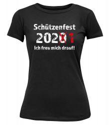 """T-Shirt """"Schützenfest 2020"""" - Damen"""