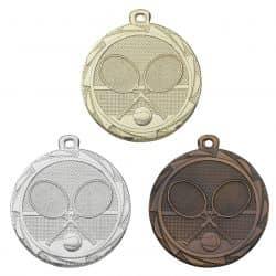 Tennismedaille 45mm Ø