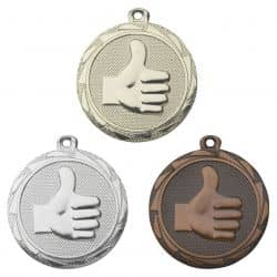 "Medaille ""Thumbs Up"" 45mm Ø"
