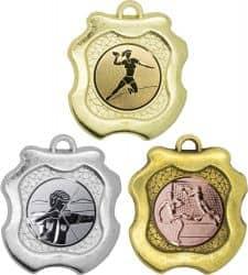 """Medaille """"Milet"""" Ø 45mm mit Wunschemblem und Band"""