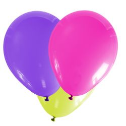 Luftballons neon 10 Stück / Beutel