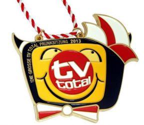 """Individueller Karnevalsorden """"TV total"""""""