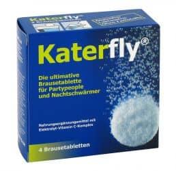 Katerfly - Brausetabletten für Partymacher und Nachtschwärmer